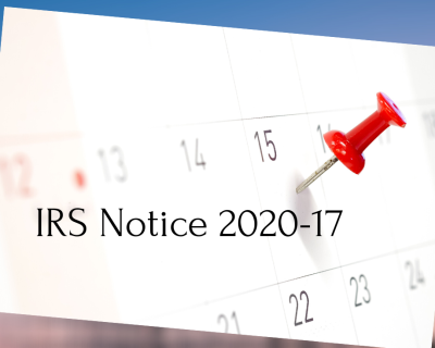 IRS Clarifies Relief From April 15th Tax Payment Deadline