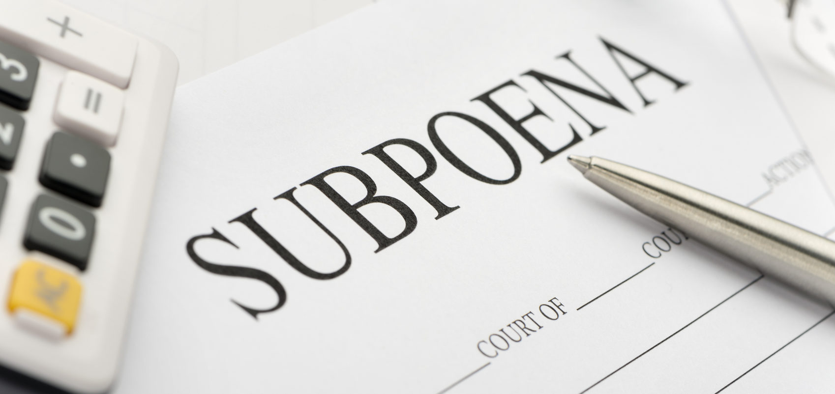 Issuing and Serving Foreign Subpoenas in North Carolina