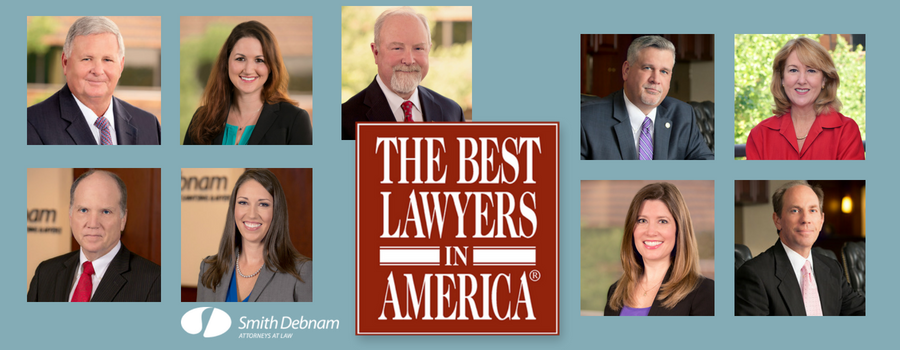 Nine Smith Debnam Lawyers Named to the 2019 Best Lawyers in